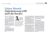 Handelszeitung 30.06.2016 Consulting Special