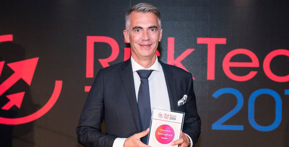 "BearingPoint wins Chartis RiskTech100® 2019 award in the category ""RegTech"""