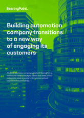 Building automation company transitions to a new way of engaging its customers