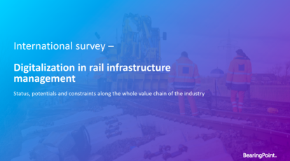 Download: Digitization in rail infrastructure management