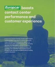 Europcar boosts contact center performance and customer experience