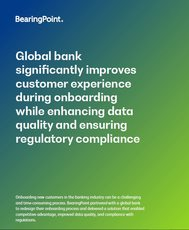 Global bank significantly improves customer experience