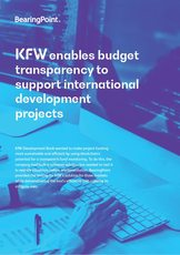 KfW enables budget transparency to support international development projects