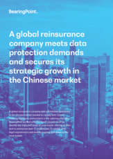 A global reinsurance company meets data protection demands