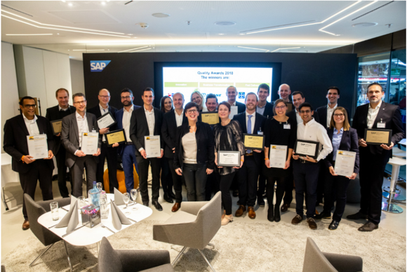 Bronze Winner of SAP Quality Awards for 2018